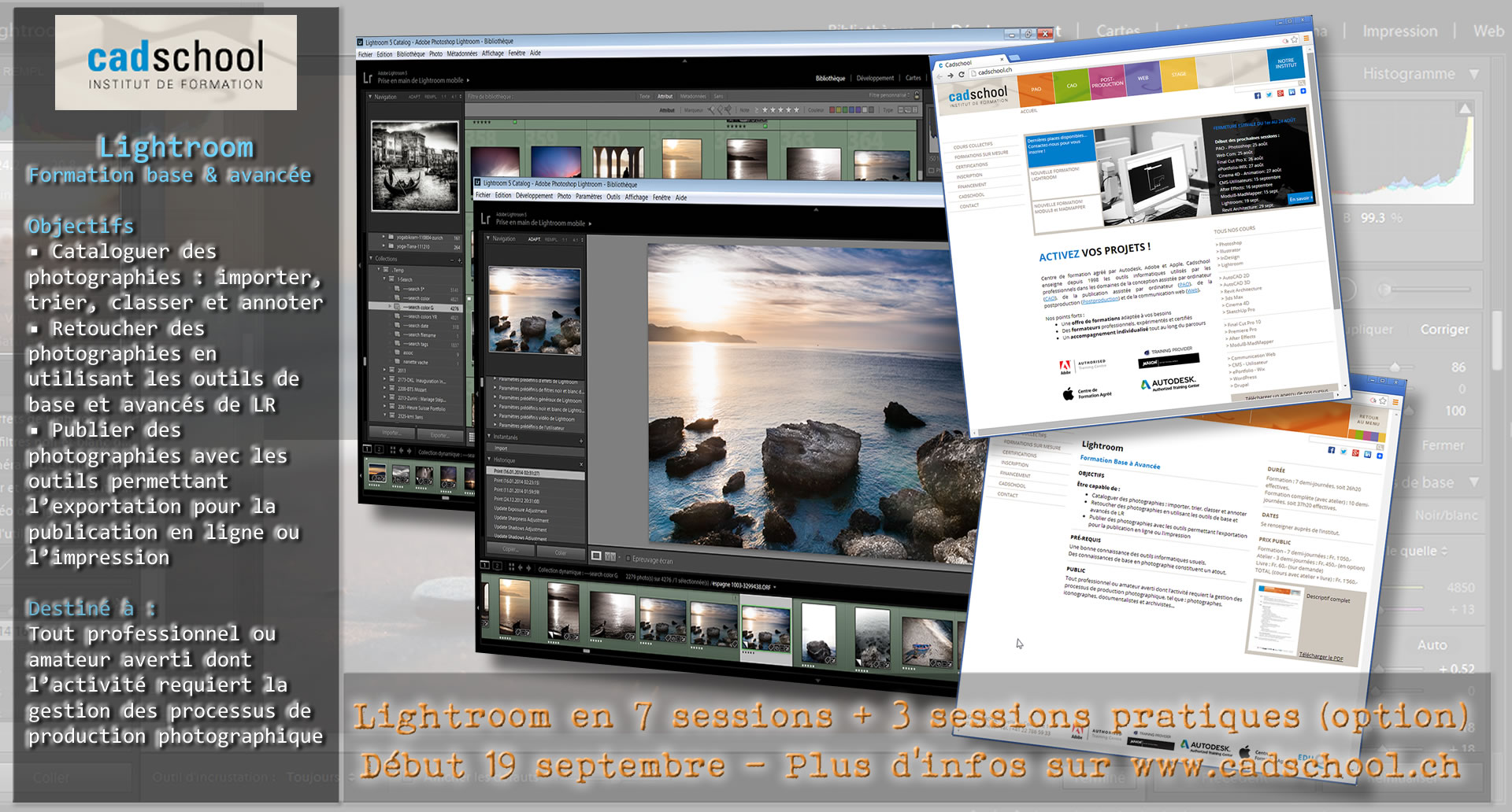 Cours Adobe Lightroom Sept 2014